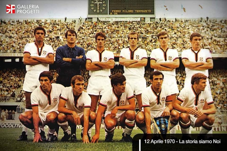 49 anni fa il trionfo rossoblù
