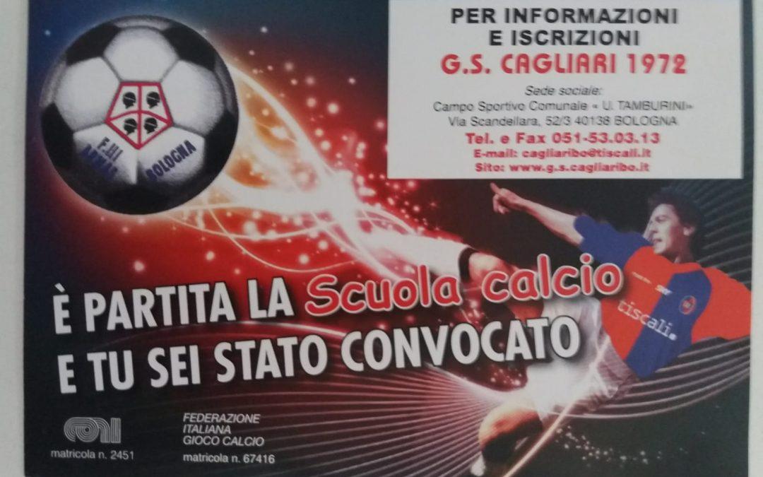 La Scuola Calcio del GS vi aspetta!