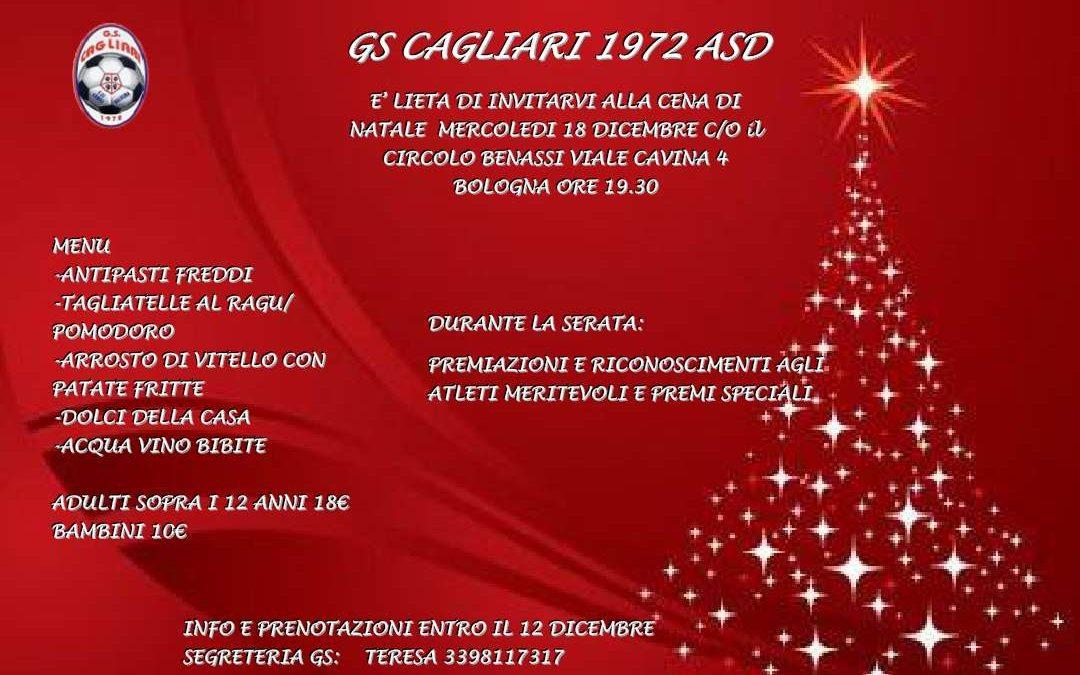 La cena di Natale del GS